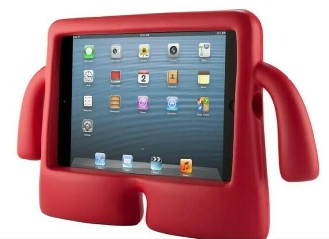 Protector Ibuy Brazos iPad 10.2, Color Rojo