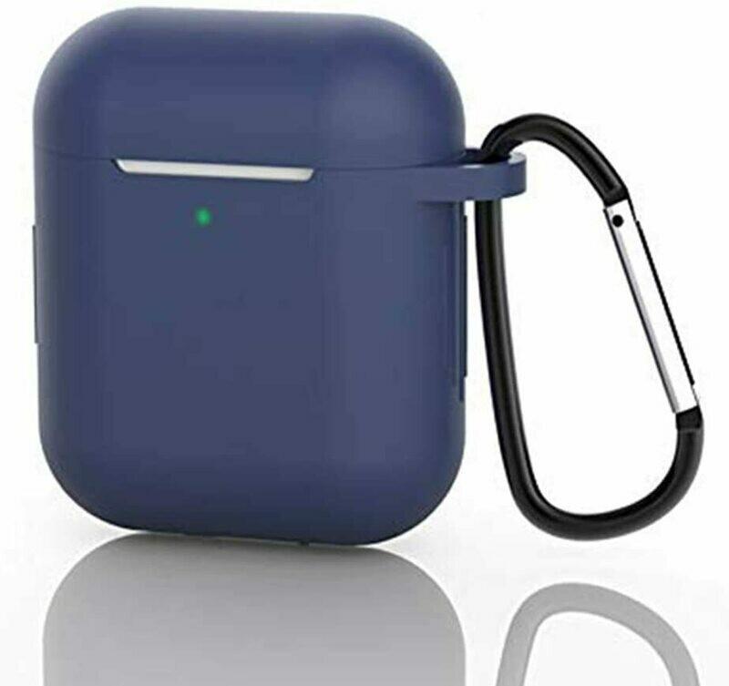 Funda de silicona suave para auriculares compatible con Apple AirPods