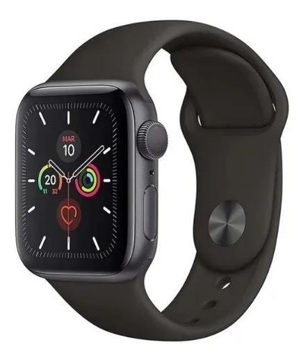 Apple Watch Serie 5, 44mm, Color Gris Espacial