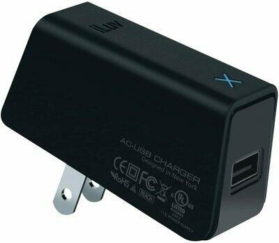 Adaptador USB ILUV cargador de CA / CC; funciona con iPad (R)