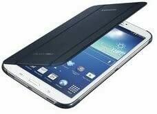 """Samsung Galaxy Tab 3 8"""" Book Cover, Color Azul Topacio"""