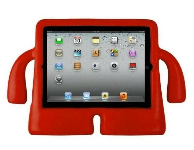 Estuche Antigolpes Ibuy iPad 2/3/4 , Color Rojo
