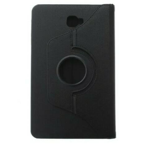 Samsung Tab A 10.1 - Estuche Giratorio Color Negro