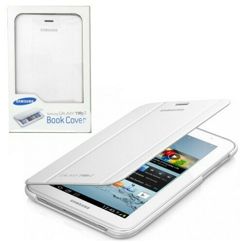 "Samsung Galaxy Tab 2 - 7.0"" Book Cover, Color Blanco"