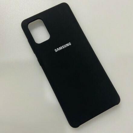 Funda de Silicona Samsung Galaxy A31 - Color Negro