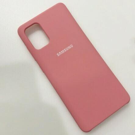Funda de Silicona Samsung Galaxy A31 - Color Rosado
