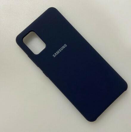 Funda de Silicona Samsung Galaxy A31 - Color Azul Oscuro