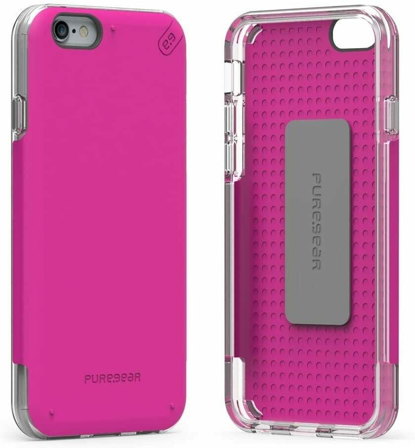 Case Puregear para iPhone 6S Plus/6 Plus, Rosado
