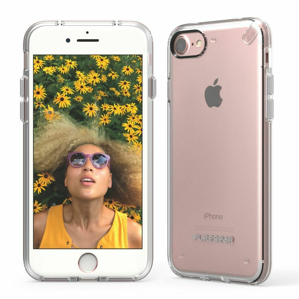 Funda Slim Shell para  iPhone SE (2020) / 8/7 - Transparente