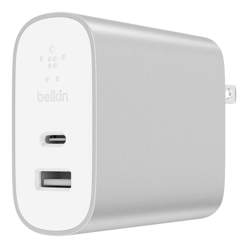 Cargador de pared - BOOST ↑ CHARGE ™ 27 W USB-C PD + 12 W USB-A