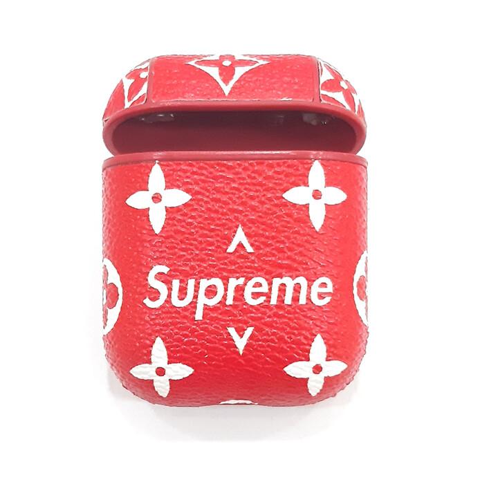 Protector para Apple AirPods 1 y 2, Color: Rojo Supreme