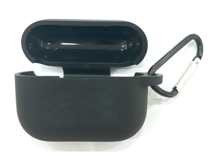 Funda de silicona para AirPods Pro para Apple, Color Negro