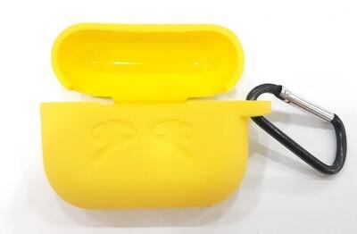 Funda de silicona para AirPods Pro para Apple, Color Amarillo