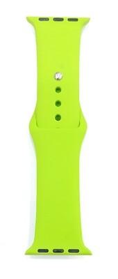 Banda deportiva silicona de 38/40 mm, Verde Limón