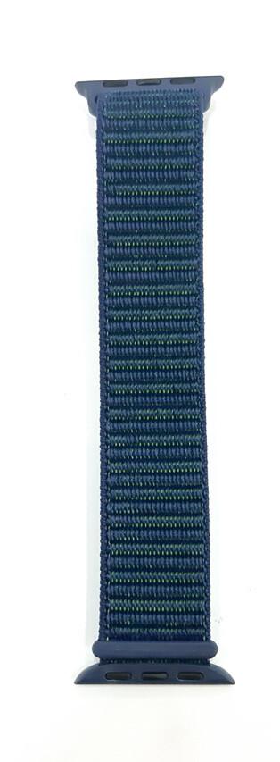 Correa de Tela Trenzado para 38/40mm, Azul Verdoso