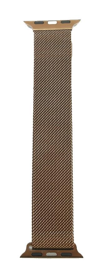 Correa Bucle Milanesa Loop 38/40mm para Apple Watch, Color Marrón Brillante
