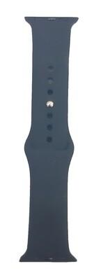 Banda deportiva silicona de 38/40 mm, Azul Oscuro