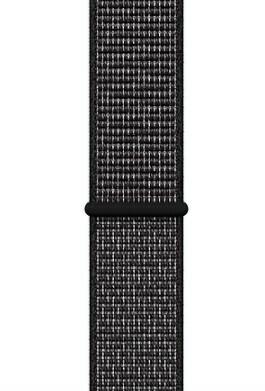 Correa de Tela Trenzado para 42/44mm, Color Negro