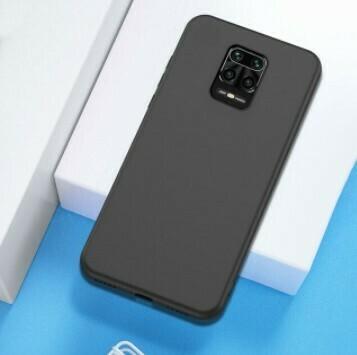 Funda de Silicona Redmi Note9S/ Pro Max  - Color Negro