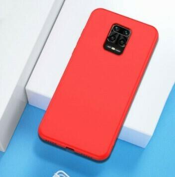 Funda de Silicona Redmi Note9S/ Pro Max  - Color Rojo