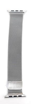 Correa Bucle Milanesa Loop 42/44mm para Apple Watch, Color Plata