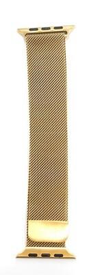 Correa Bucle Milanesa Loop 42/44mm para Apple Watch, Color oro