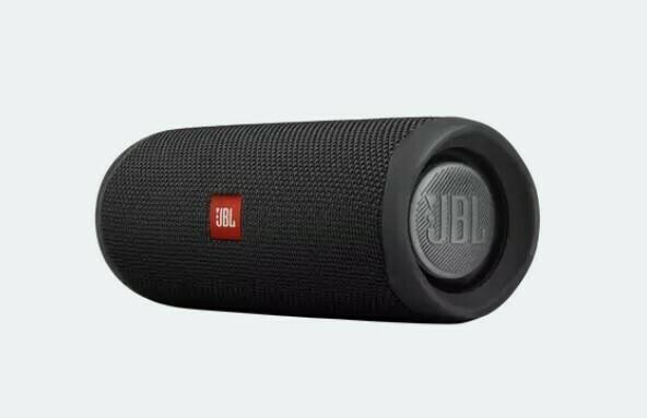 JBL FLIP 5 - Altavoz Bluetooth portátil impermeable, Color Negro