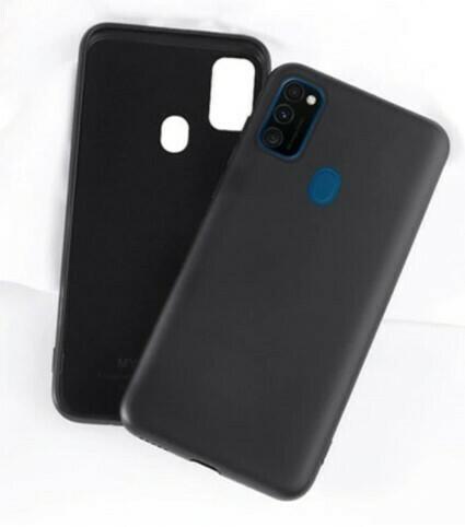 Funda de Silicona Samsung Galaxy A21S - Color Negro