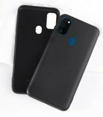 Case de Silicona Samsung Galaxy A21S - Negro