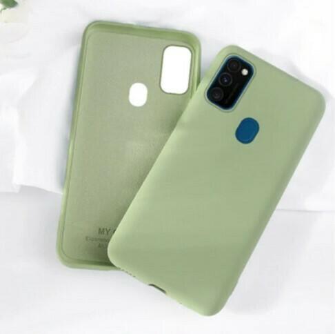 Funda de Silicona Samsung Galaxy A21S - Color Verde
