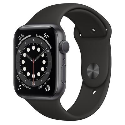 Apple Watch Series 6 - 44mm, Color Negro