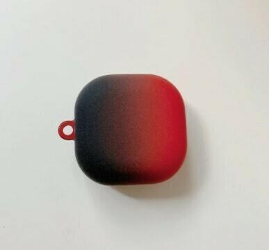 Funda protectora de carcasa dura para Samsung Galaxy Buds Live, Color Rojo/Negro
