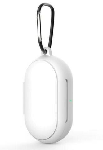 Funda protectora de silicona para Galaxy Buds/Buds+, Color Blanco