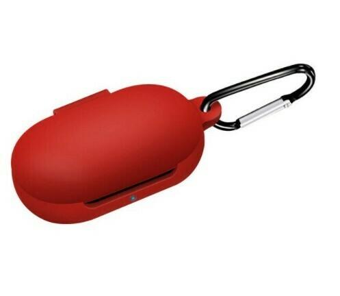 Funda protectora de silicona para Galaxy Buds/Buds+, Color Rojo