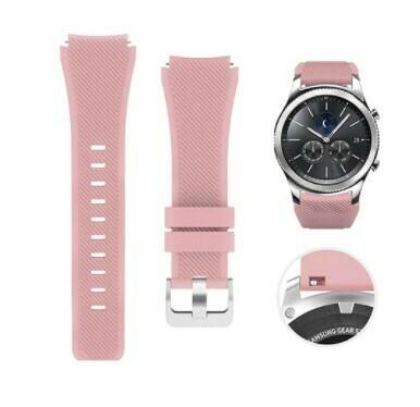 Pulso Smart silicona Samsung Watch S3 / 46mm - Rosado