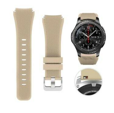 Pulso Smart silicona Samsung Watch S3 / 46mm - Beige