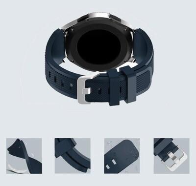 Pulso Smart silicona Samsung Watch S3 / 46mm - Azul