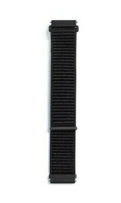 Pulso Smart nylon Samsung Watch S3 y S4 / 46mm - Negro