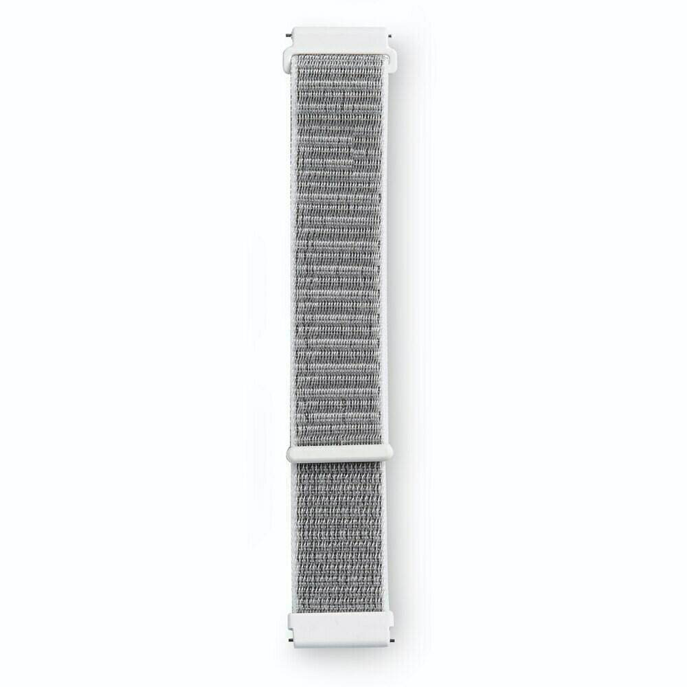 Pulso Smart nylon Samsung Watch S3 y S4 / 46mm - Gris Blanco