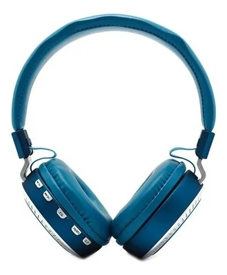 Audífonos Inalámbricos Super Bass Beston BST-10, Color Azul