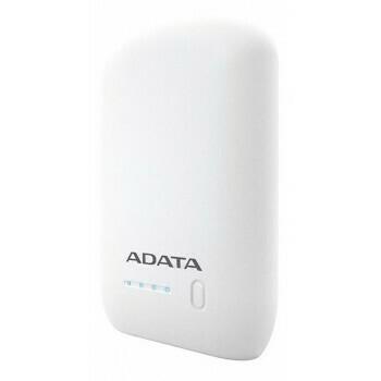 Power Bank ADATA, 10.050 mAh, Color Blanco