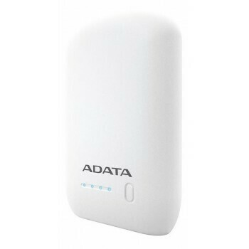 PowerBank Capacidad 10.050V / Marca ADATA, Color Blanco