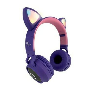 Audífonos estéreo con micrófono y tecnología inalámbrica / HERA