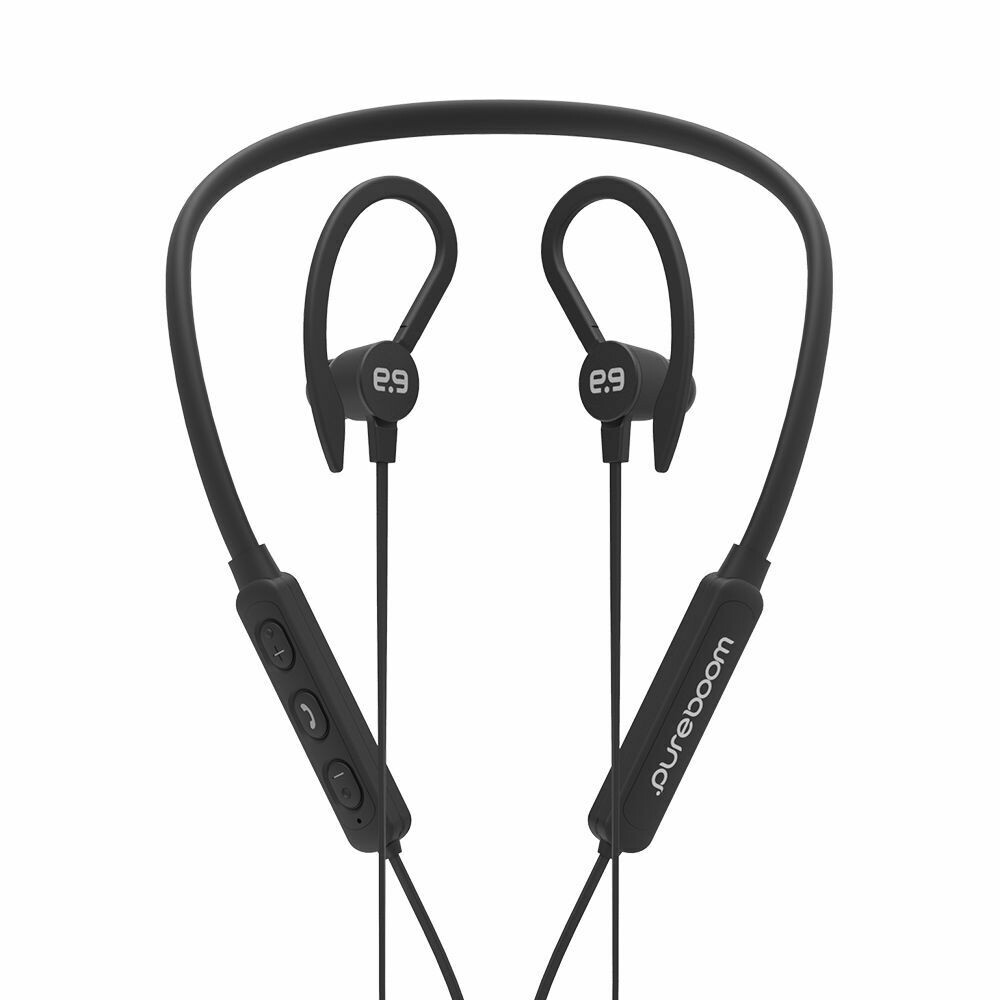 Auriculares inalámbricos PureBoom - Negro