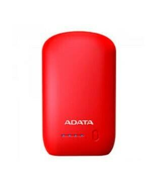 PowerBank Capacidad 10.050V / Marca ADATA, Color Rojo