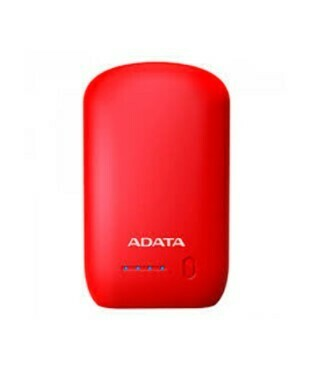 PowerBank Capacidad 10.050V / Marca ADATA, Color Rojo