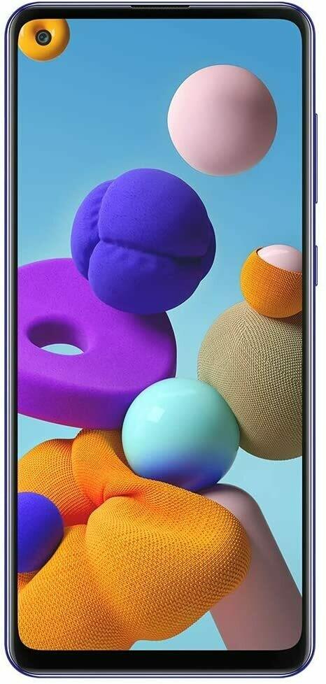 Samsung Galaxy A21S - 128 GB, Color Azul