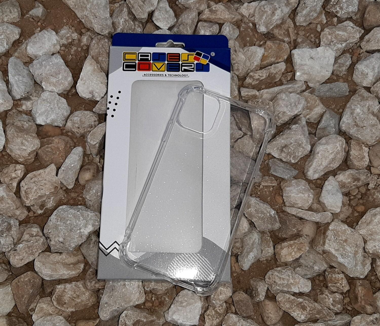 Case de silicona para IPhone11, Color Transparente