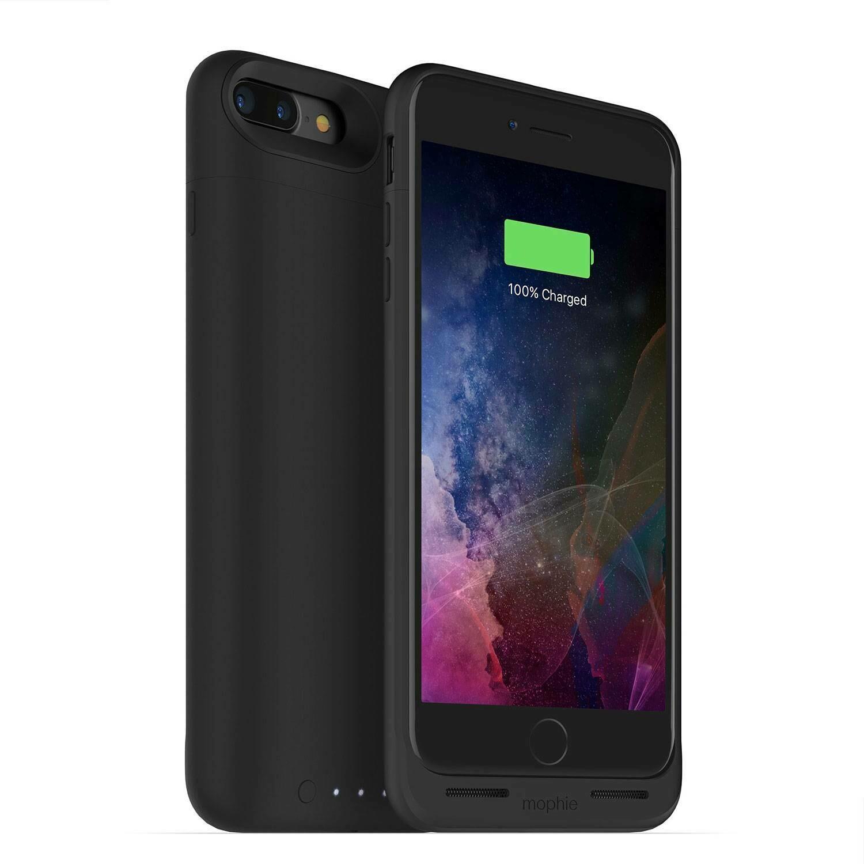 Funda Batería mophie juice pack air iPhone 7 Plus/iPhone 8 Plus, Negro