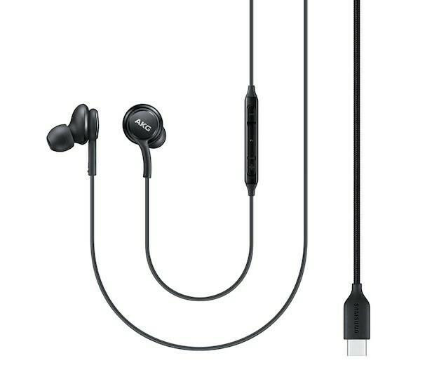 Auriculares Samsung Type-C, Negro
